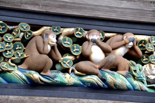 Los tres monos de Nikko