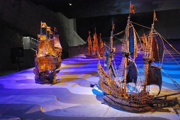 Maqueta del Vasa Museet de Estocolmo