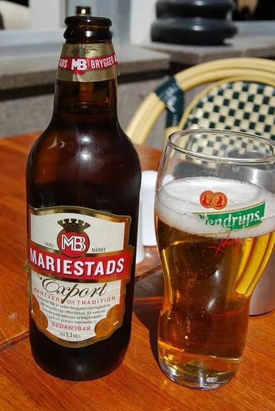 Mariestads Export, cerveza sueca