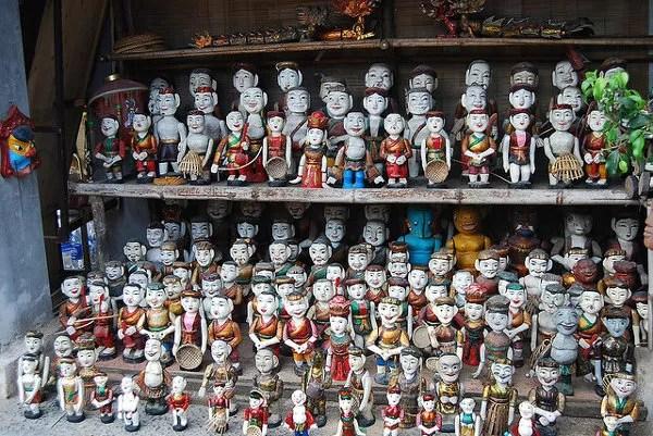 Marionetas de agua