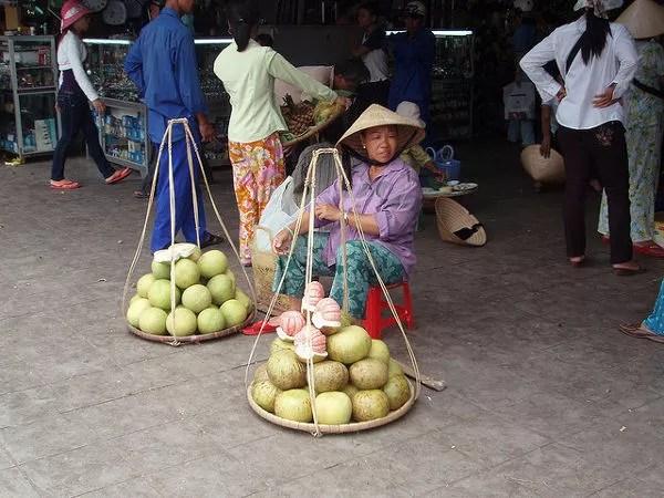 Mercado de Dong Ba en Hué