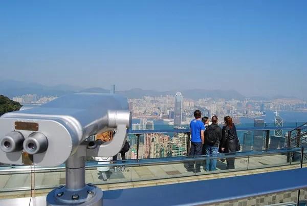 Miradores de la Peak Tower