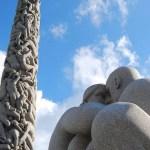 Monolito y esculturas del Vigelandsparken de Oslo
