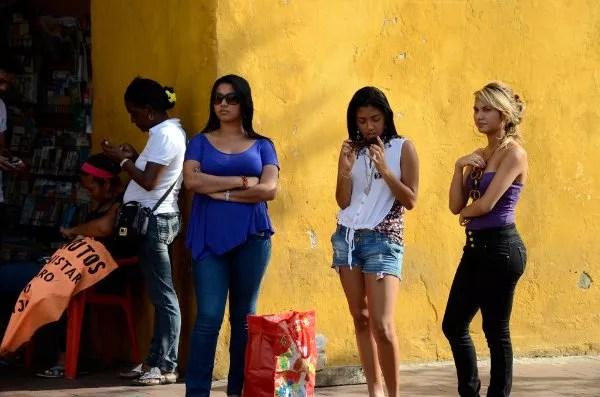 Mujeres de Cartagena de Indias