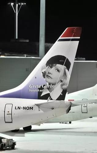 Norwegian Greta Garbo por Hans Olav Nyborg