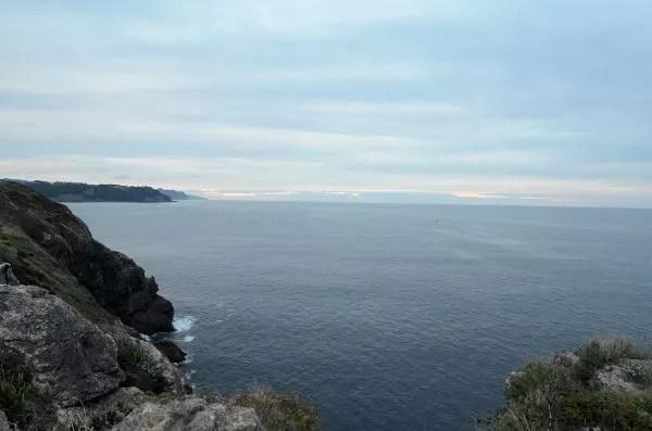 Paisajes cercanos al Faro de Santa Catalina en Lekeitio