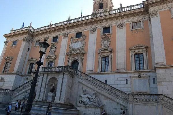Palazzo en la Piazza del Campidoglio