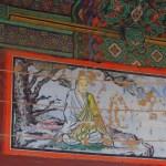 Pintura del templo Bongeunsa de Seúl