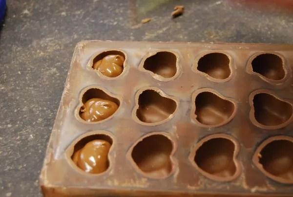 Pralinés rellenos de de la chocolatería Sukerbuyc de Brujas