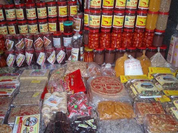 Puesto del Mercado de Dong Ba de Hué