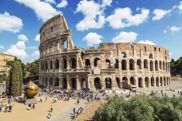 Qué ver en Roma en 4 días, foto del Coliseo