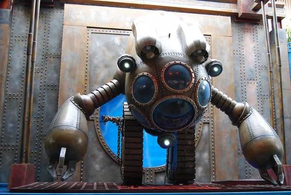 Robot steampunk del Ocean Park Hong Kong
