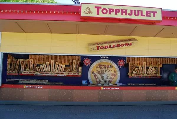 Ruleta de Toblerone en Liseberg