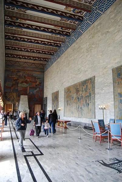 Salón del Ayuntamiento de Oslo