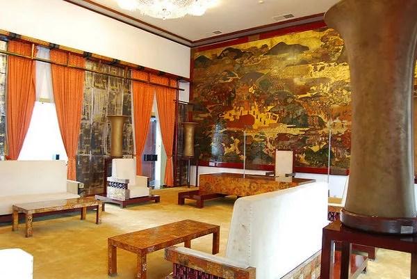 Sala de recepción del Palacio de la Reunificación