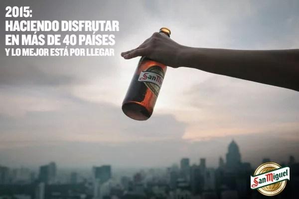 San Miguel #YLoMejorEstáPorLlegar
