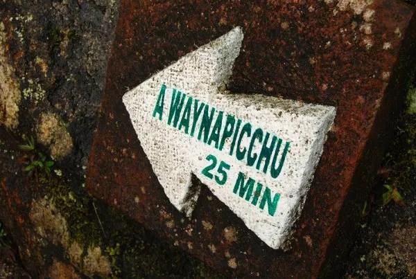 Subida al Huayna Picchu en Machu Picchu