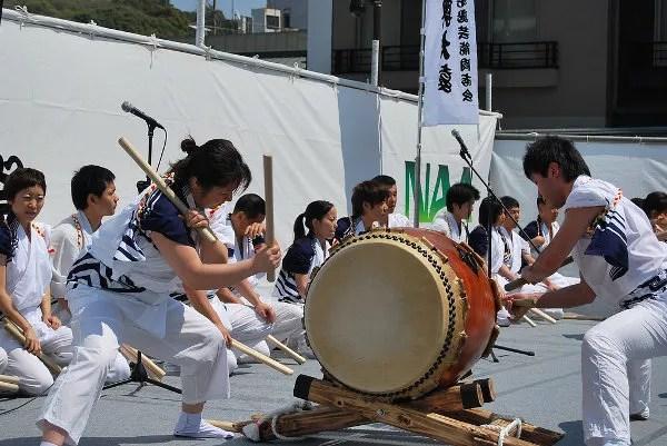Taiko Matsuri en Narita