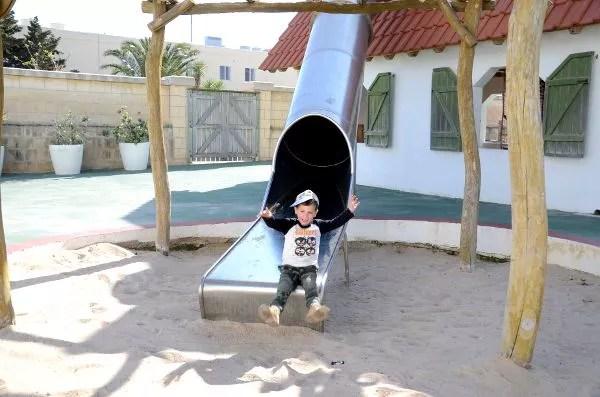 Teo en el Playmobil FunPark Malta