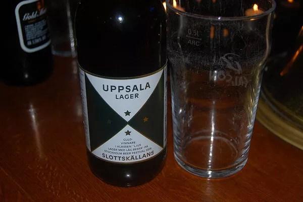 Uppsala Lager, cerveza sueca