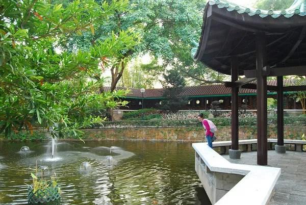 Vero en el lago del Kowloon Park