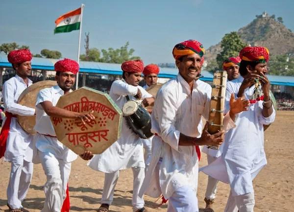 Viajes a India con Panipuri Viajes, musicos