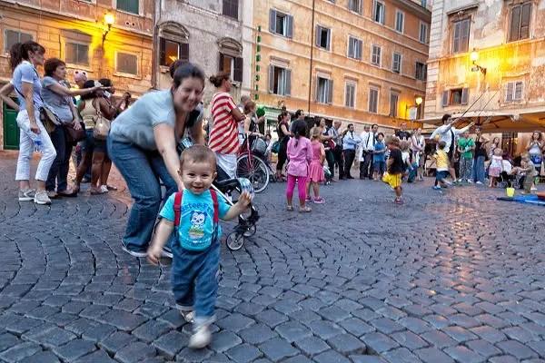 Viajes a Roma con niños