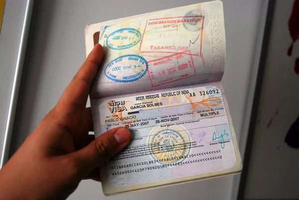 Visados para India