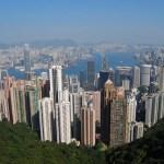 Vistas de Hong Kong desde el Victoria's Peak