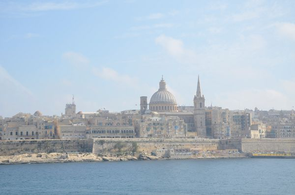 Vistas desde The Point en Malta