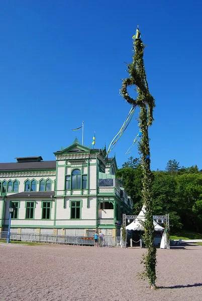 Viviendo el Midsommar en Marstrand, Suecia