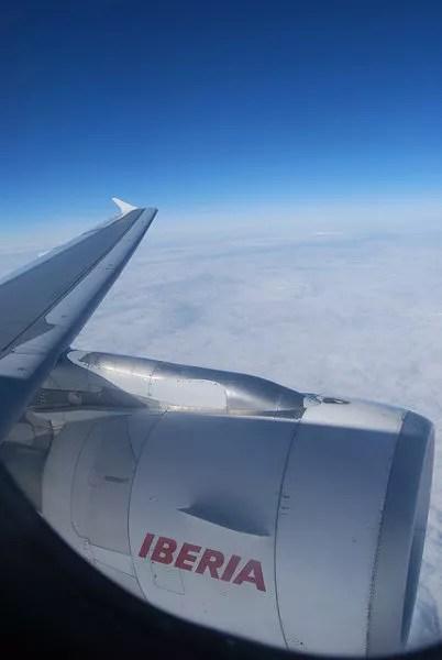 Volando con la Business Class de Iberia