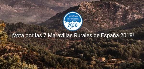Vota las 7 Maravillas Rurales de España de HomeAway
