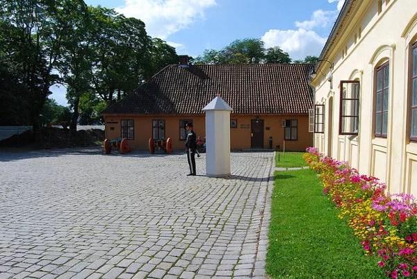 Zona militar de la fortaleza Akershus de Oslo