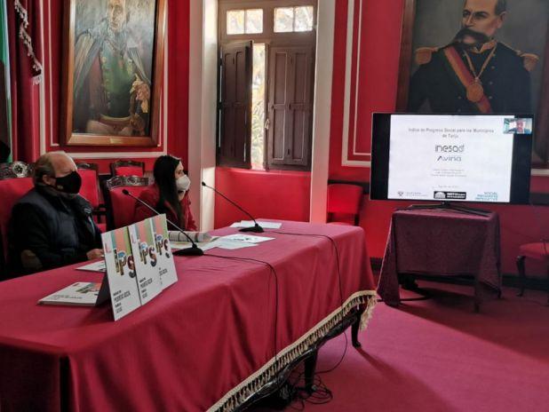 Datos del Índice de Progreso guiarán las políticas públicas en Tarija