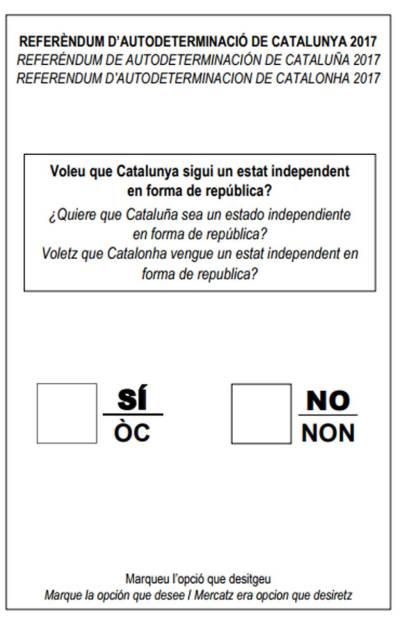 Resultado de imagen de referendum catalunya generalitat