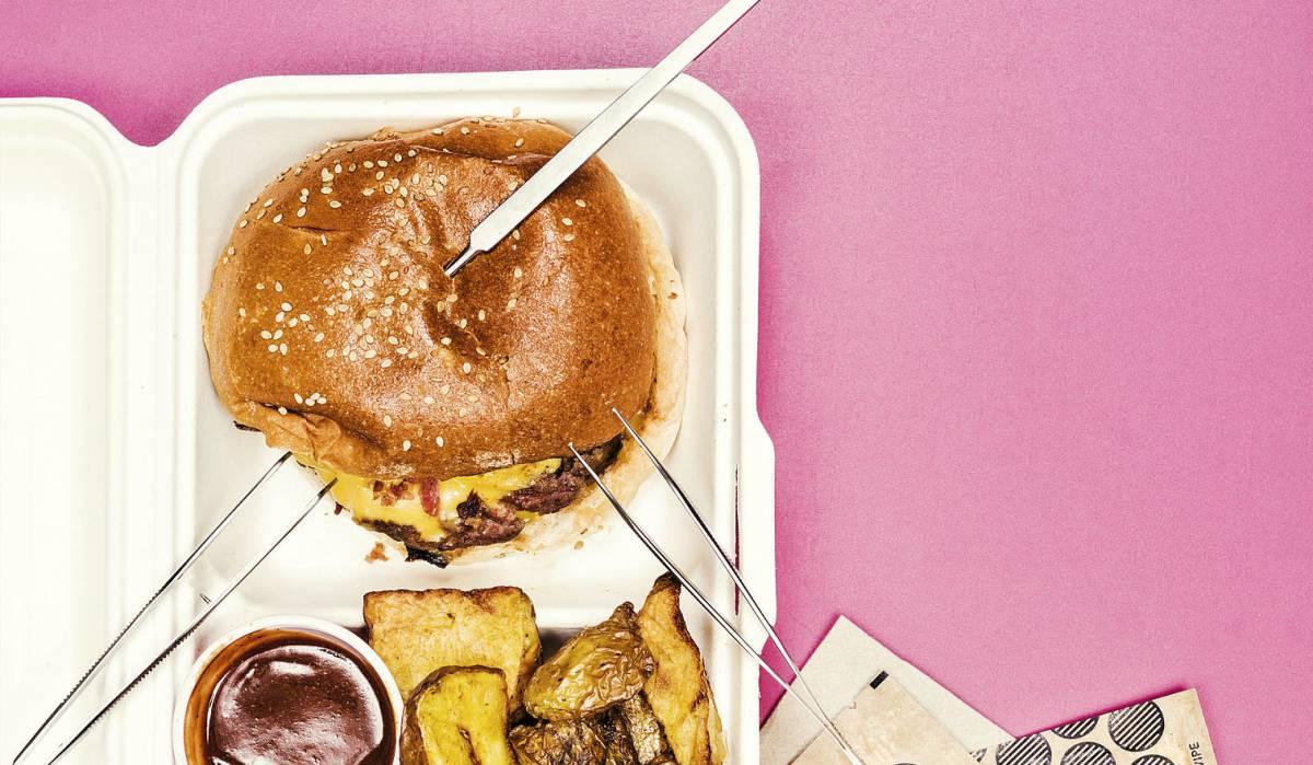 ¿Cuál es la mejor hamburguesa para llevar?