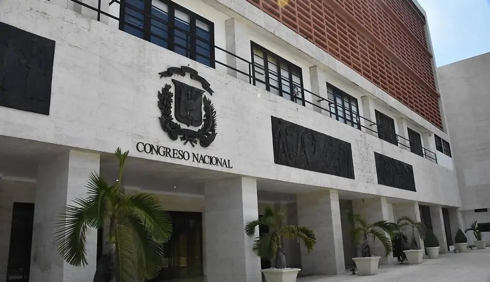 Fachada del Congreso Nacional Dominicano