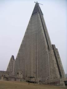 North Korea Ryugyong Hotel
