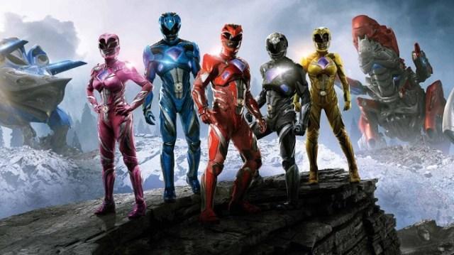 Foto de grupo Power Rangers - El Palomitron