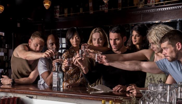 Sense8 Protagonistas El Palomitrón