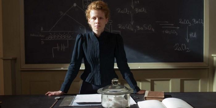 Marie Curie en El Palomitrón