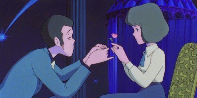 Lupin y Clarisse El castillo de Cagliostro El Palomitrón