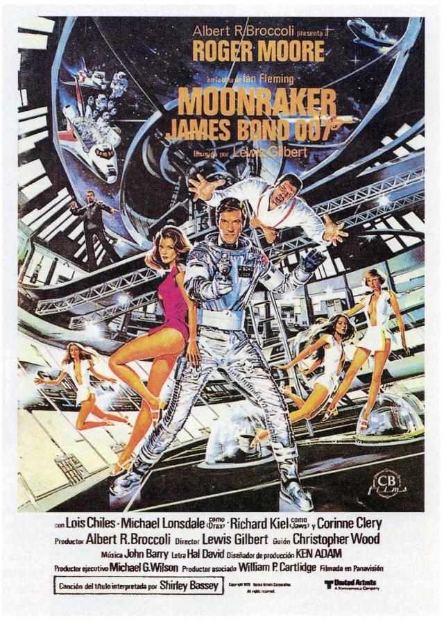 Especial James Bond Moonraker