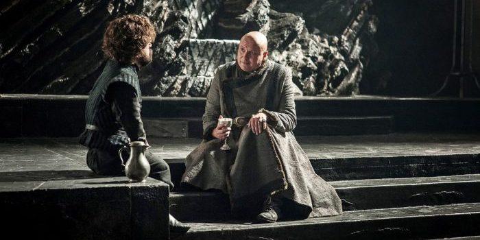 Tyrion y Varys Juego de Tronos El Palomitrón
