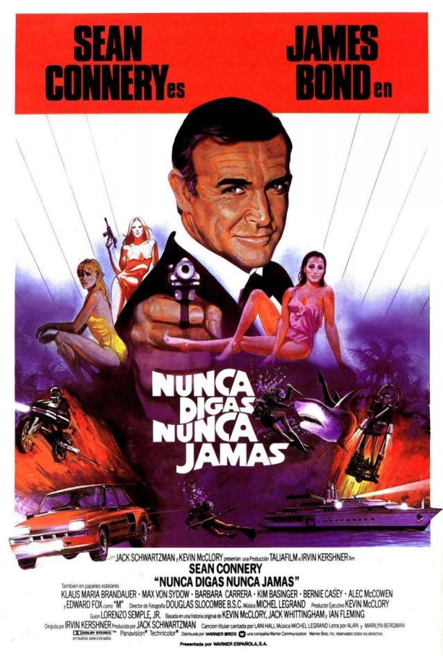 Especial James Bond: Nunca digas nunca jamás