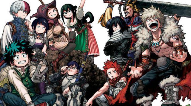 reseña boku no hero academia #1 personajes - el palomitron