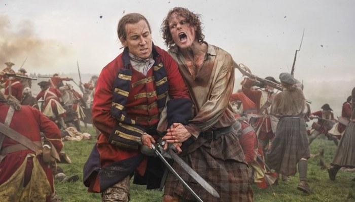 Outlander Jamie y Jack El Palomitrón
