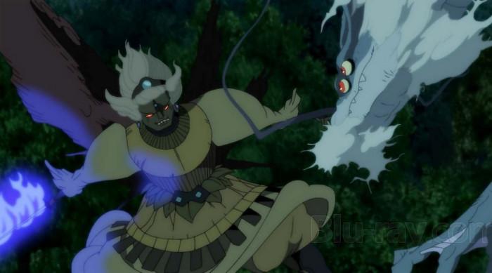 Crítica de La leyenda del dragón milenario (Onigamiden) lucha - el palomitron