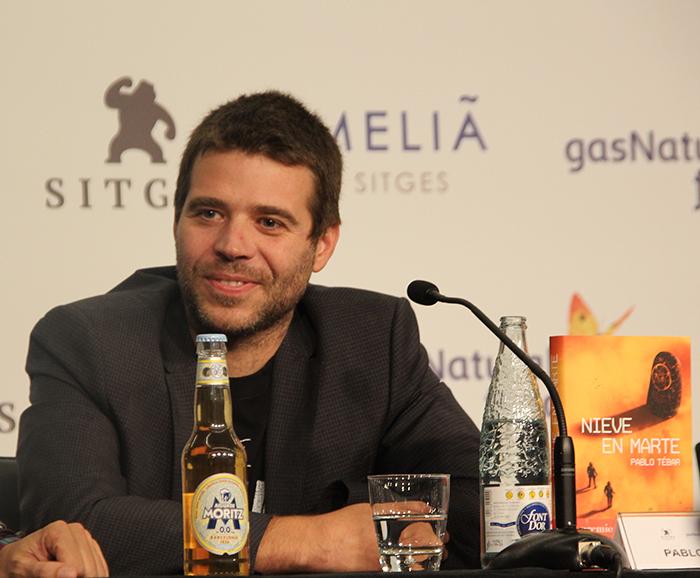 Pablo Tébar, escritor de Nieve en Marte y ganador del Premio Minotauro 2017